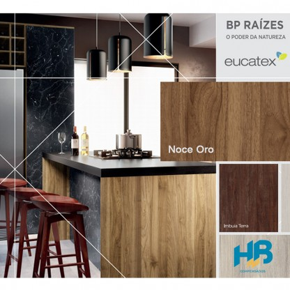 MDF Noce Oro Eucatex