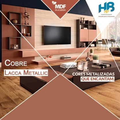 MDF Cobre Eucatex